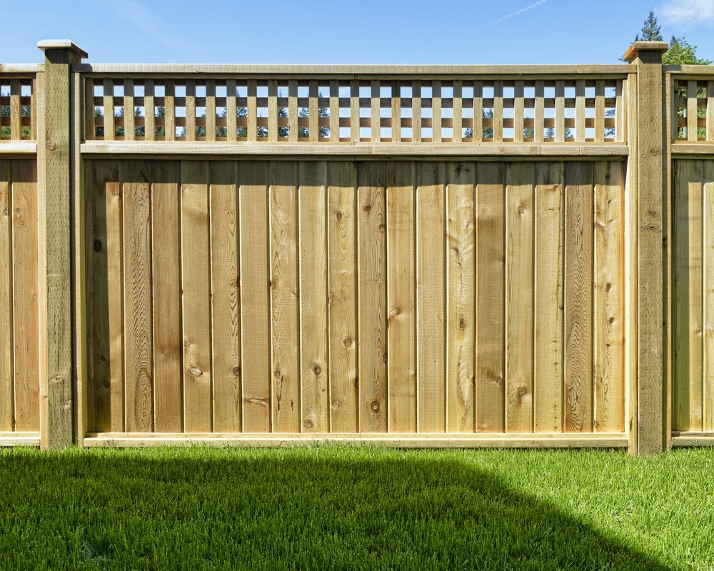 Fences with a greater amount of surface area, such as solid panel fences, require stronger posts.